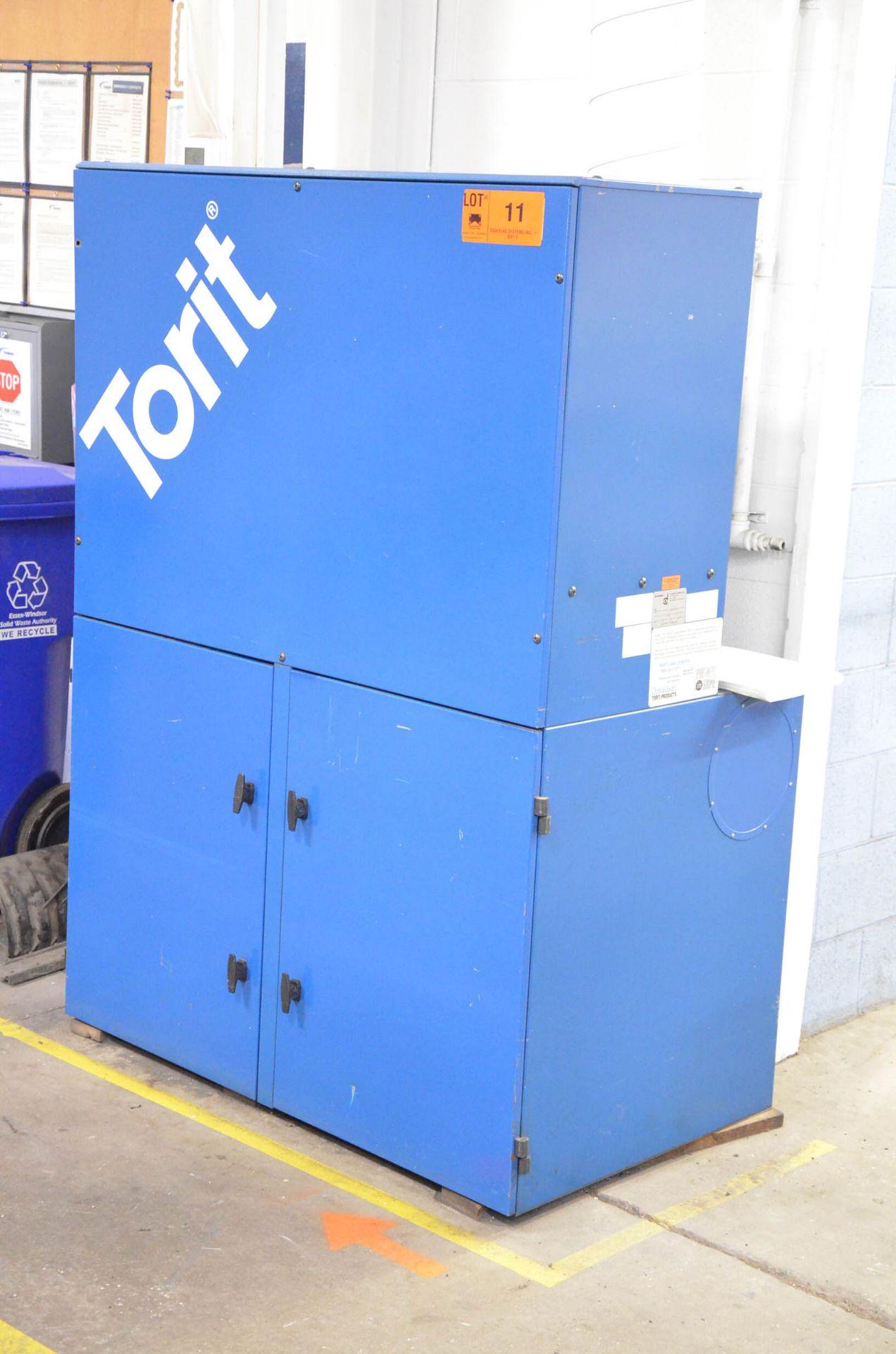 DONALDSON TORIT VS2400 5HP FLOOR-TYPE DUST COLLECTOR, 575V/3PH/60HZ, S/N: IG524206 (CI) [RIGGING