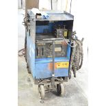 MILLER DIALARC-HF PORTABLE WELDER WITH CABLES AND GUN, S/N: JG085491