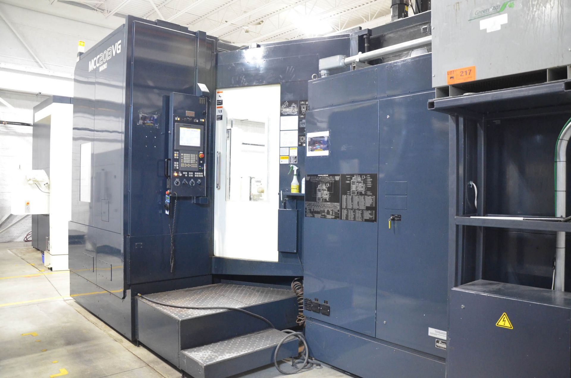 "MAKINO (2013) MCC2013 VG 6-AXIS CNC MACHINING CENTER WITH MAKINO PROFESSIONAL 5 CNC CONTROL, 59"" X - Image 6 of 11"