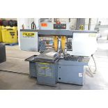 """HYD-MECH S-23 HORIZONTAL BAND SAW WITH 20"""" CAPACITY, HYDRAULIC VISE, COOLANT, CHIP AUGER, 600V/3PH/"""