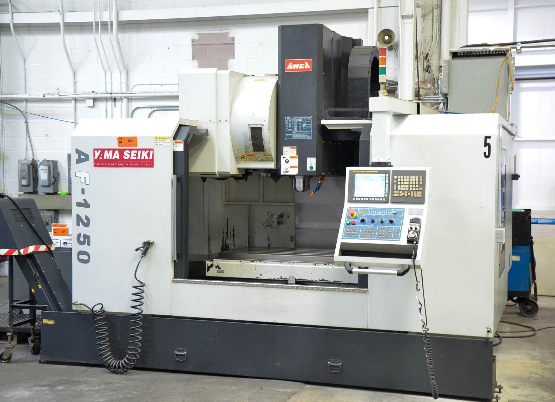 AWEA YAMA SEIKI (2012) AF-1250 CNC VERTICAL MACHINING CENTER WITH FANUC SERIES 31I-MODEL B CNC