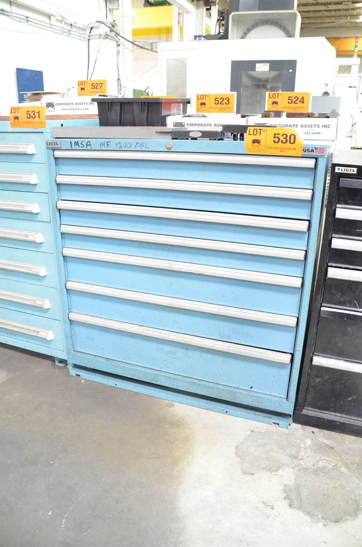 LISTA 7-DRAWER TOOL CABINET