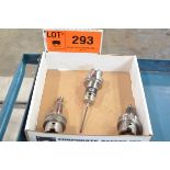 LOT/ RENISHAW OMP400 HSK-A63 TOUCH PROBE, S/N 0KMR62; HSK-A63 CALIBRATION BALL