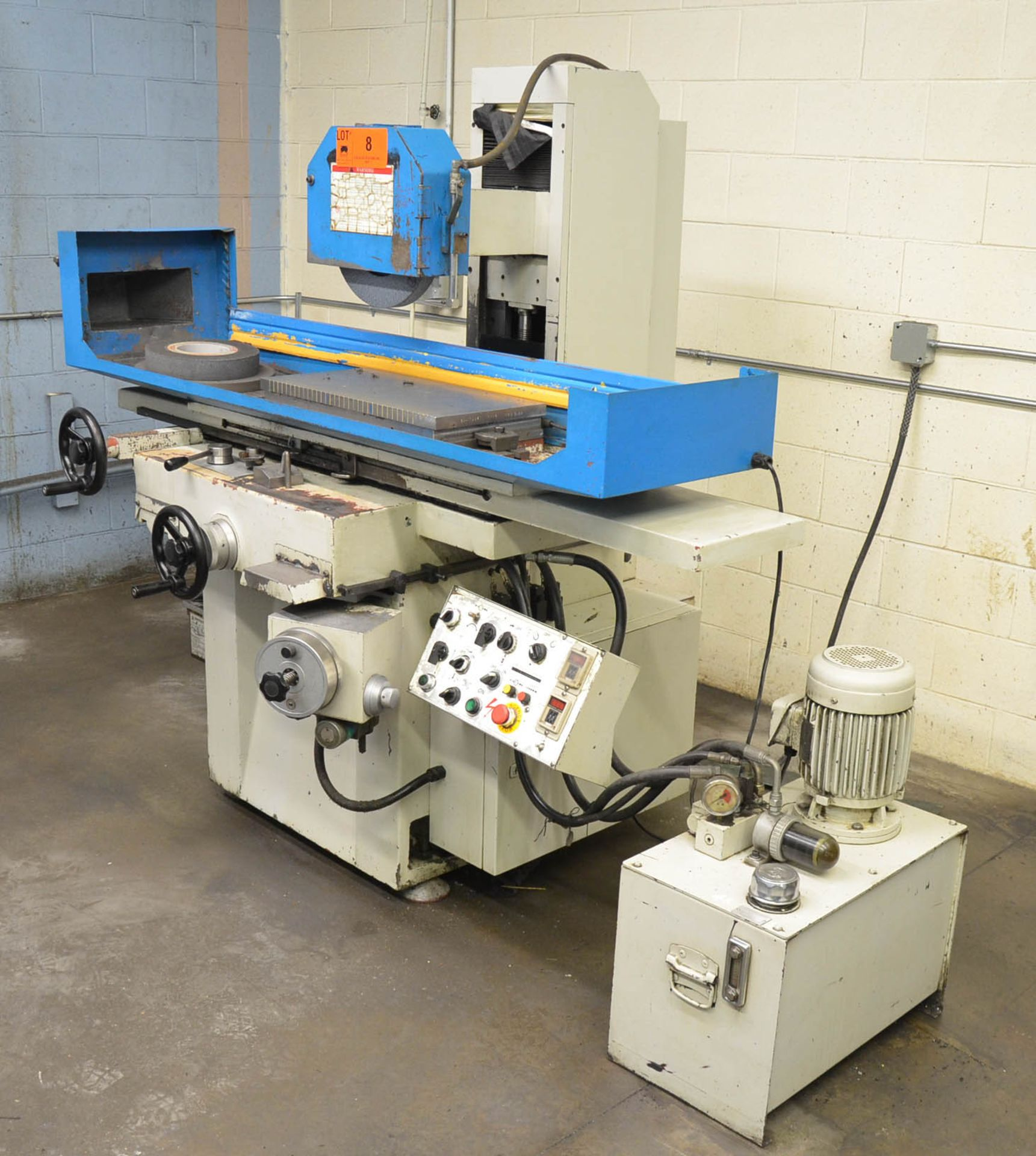 """PROTH (2005) PSGS-3060AH HYDRAULIC SURFACE GRINDER WITH 12""""X24"""" ELECTRO-MAGNETIC CHUCK, 16"""" WHEEL, - Image 2 of 6"""