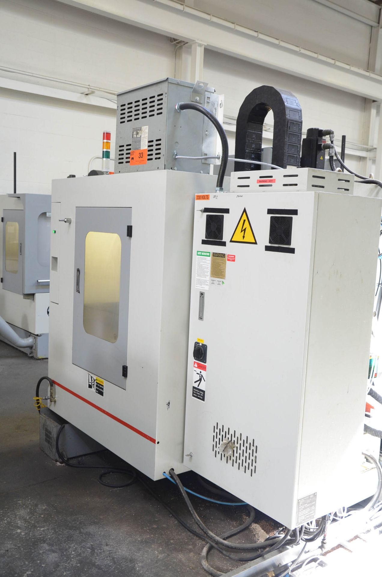 SWI (2014) TRAK LPM 4-AXIS READY CNC VERTICAL MACHINING CENTER WITH PROTO TRAK PMX CNC CONTROL, 19. - Image 4 of 12