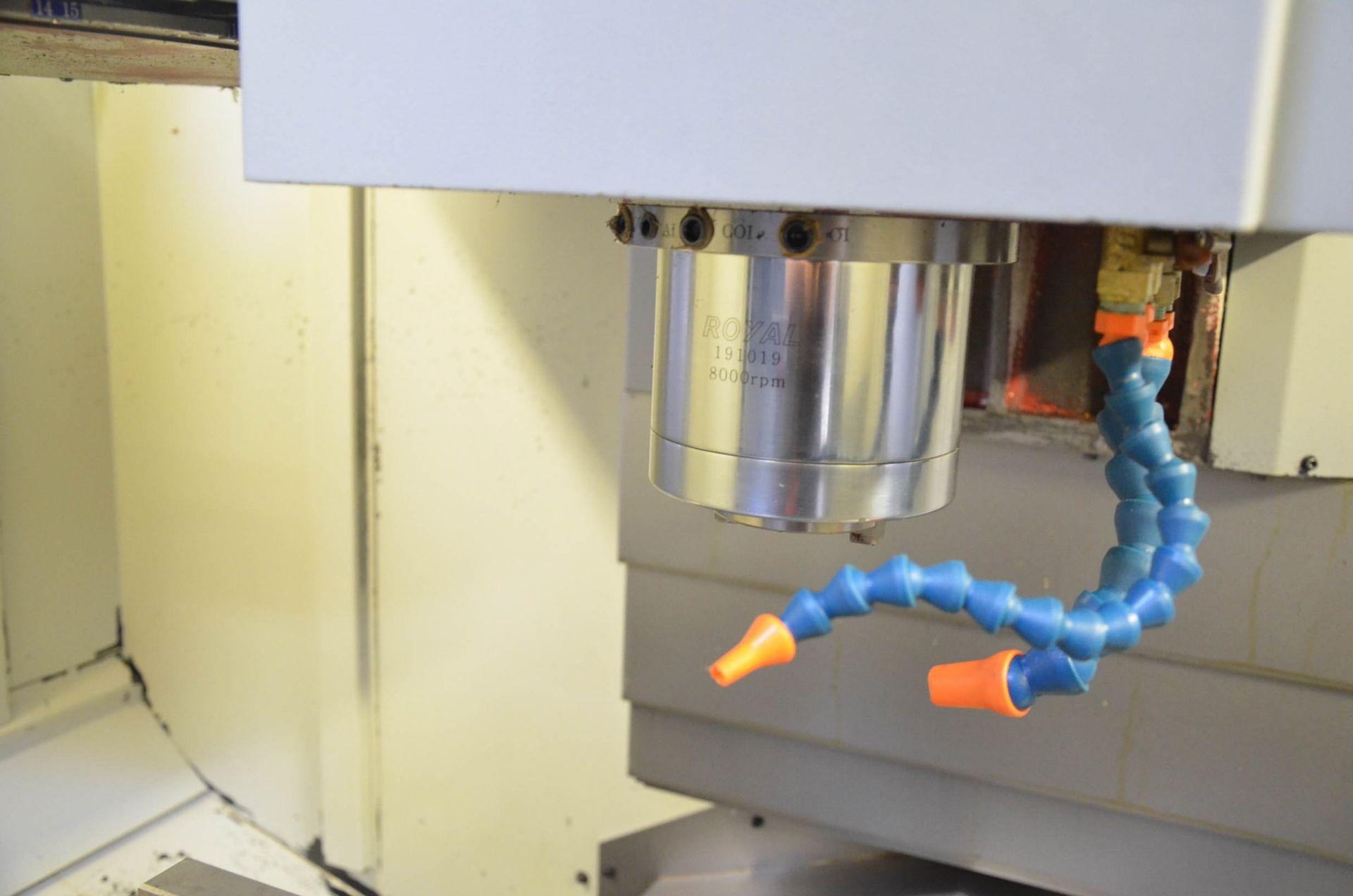 "SWI (2014) TRAK LPM CNC VERTICAL MACHINING CENTER WITH PROTO TRAK PMX CNC CONTROL, 19.5"" X 35.5"" - Image 8 of 9"