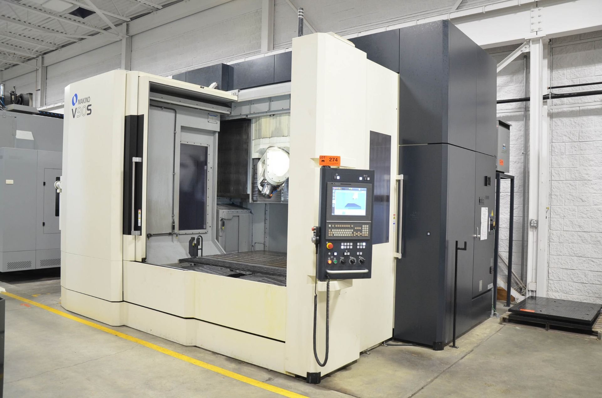 "MAKINO (NOV 2018) V90S 5-AXIS CNC MACHINING CENTER WITH MAKINO PROFESSIONAL 6 CNC CONTROL, 78.74"" - Image 2 of 15"