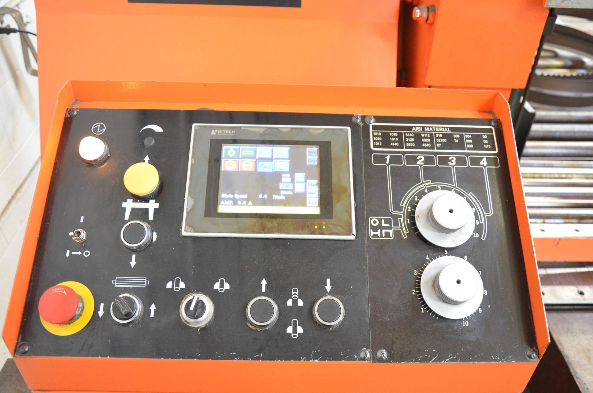 """COSEN (2012) SH-7550S AUTOMATIC DOUBLE COLUMN HORIZONTAL BAND SAW WITH 28"""" CAPACITY, HITECH TOUCH - Image 4 of 7"""