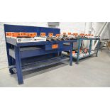 LOT/ STEEL WORK BENCHES