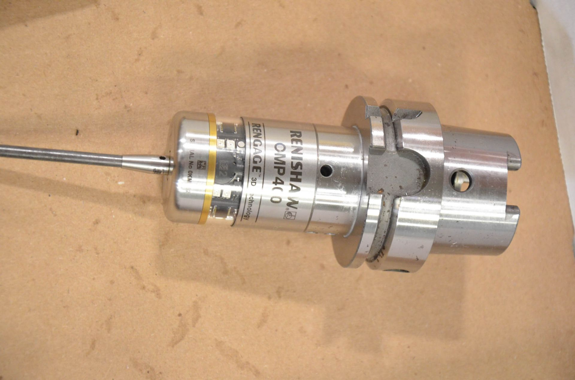 LOT/ RENISHAW OMP400 HSK-A63 TOUCH PROBE, S/N 0KMR62; HSK-A63 CALIBRATION BALL - Image 3 of 4
