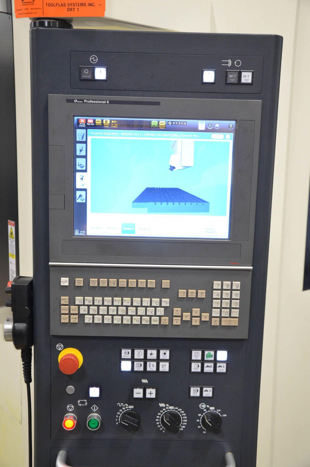 "MAKINO (NOV 2018) V90S 5-AXIS CNC MACHINING CENTER WITH MAKINO PROFESSIONAL 6 CNC CONTROL, 78.74"" - Image 13 of 15"