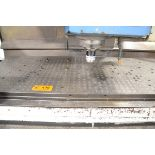 """LOT/ (2) 39.25"""" x 47"""" SUB-TABLES WITH FCS SYSTEM CLAMPING"""