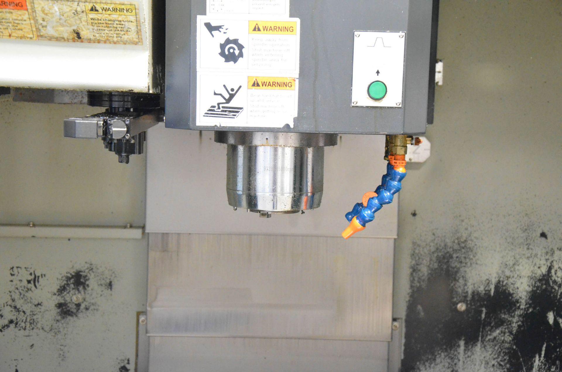 AWEA YAMA SEIKI (2012) AF-1250 CNC VERTICAL MACHINING CENTER WITH FANUC SERIES 31I-MODEL B CNC - Image 4 of 10