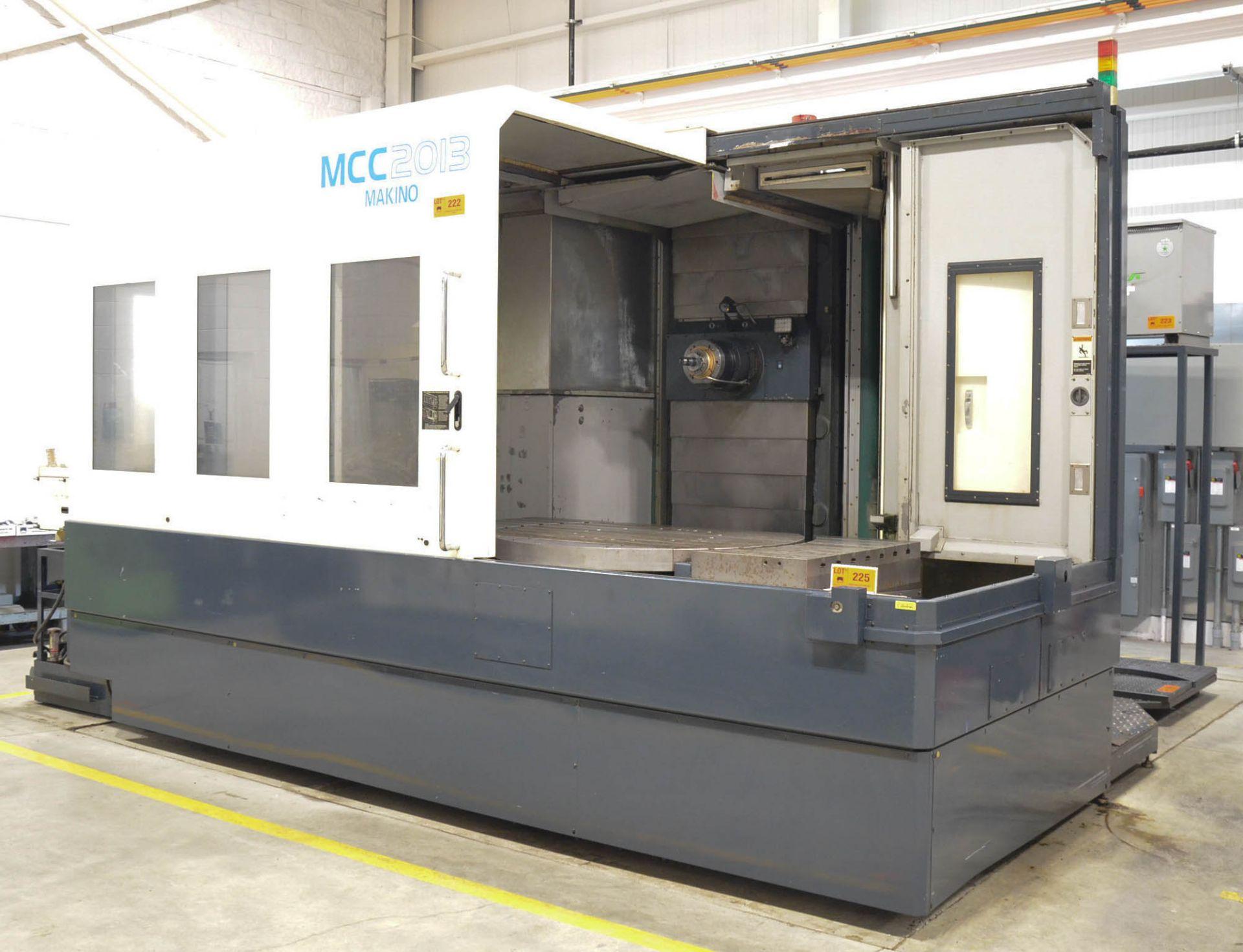 MAKINO (2008) MCC2013 4-AXIS HORIZONTAL MACHINING CENTER WITH MAKINO PROFESSIONAL 5 CNC CONTROL, - Image 2 of 12
