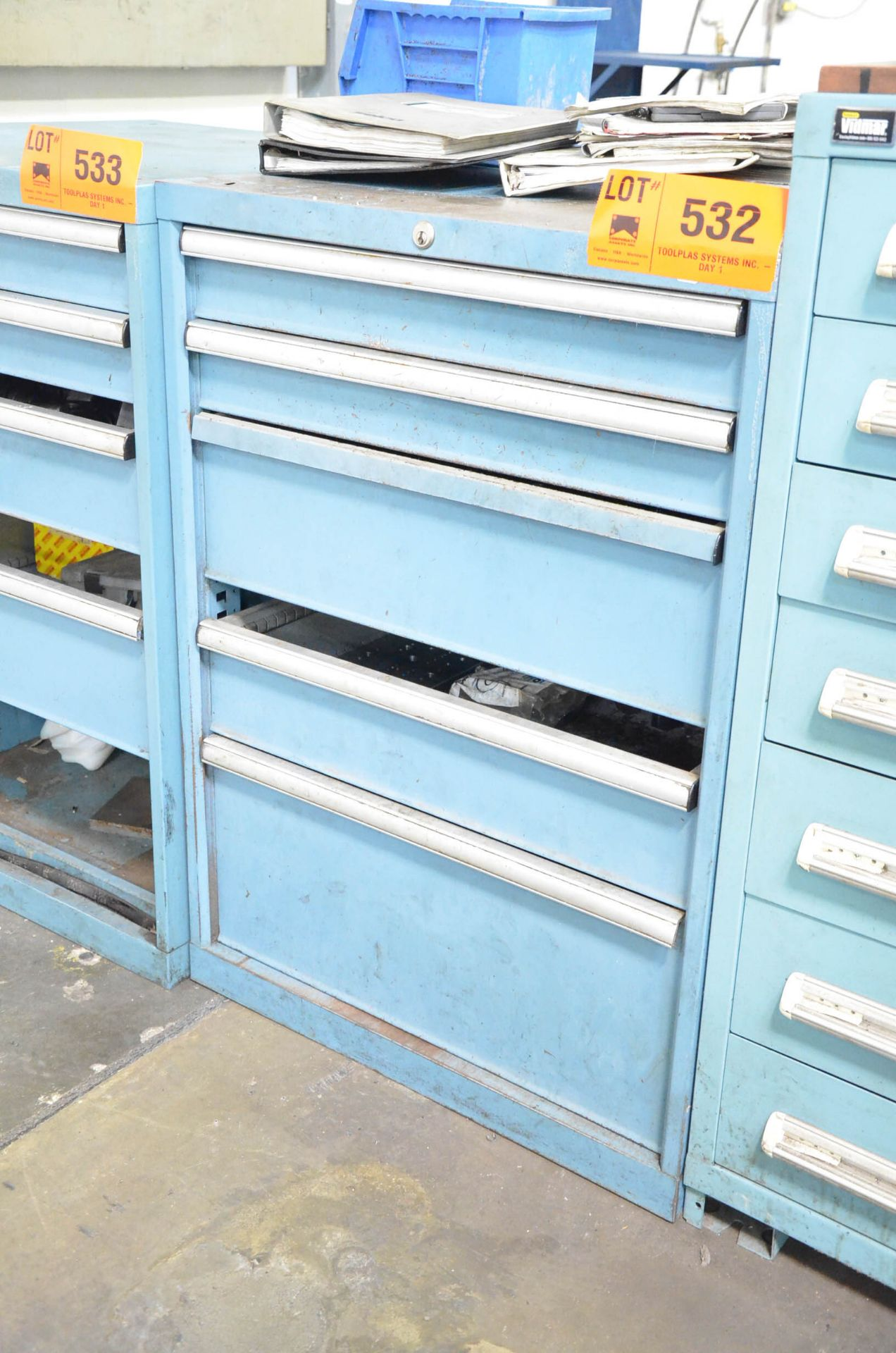 LISTA 5-DRAWER TOOL CABINET