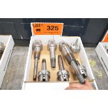 LOT/ (6) HSK-A63 TOOL HOLDERS