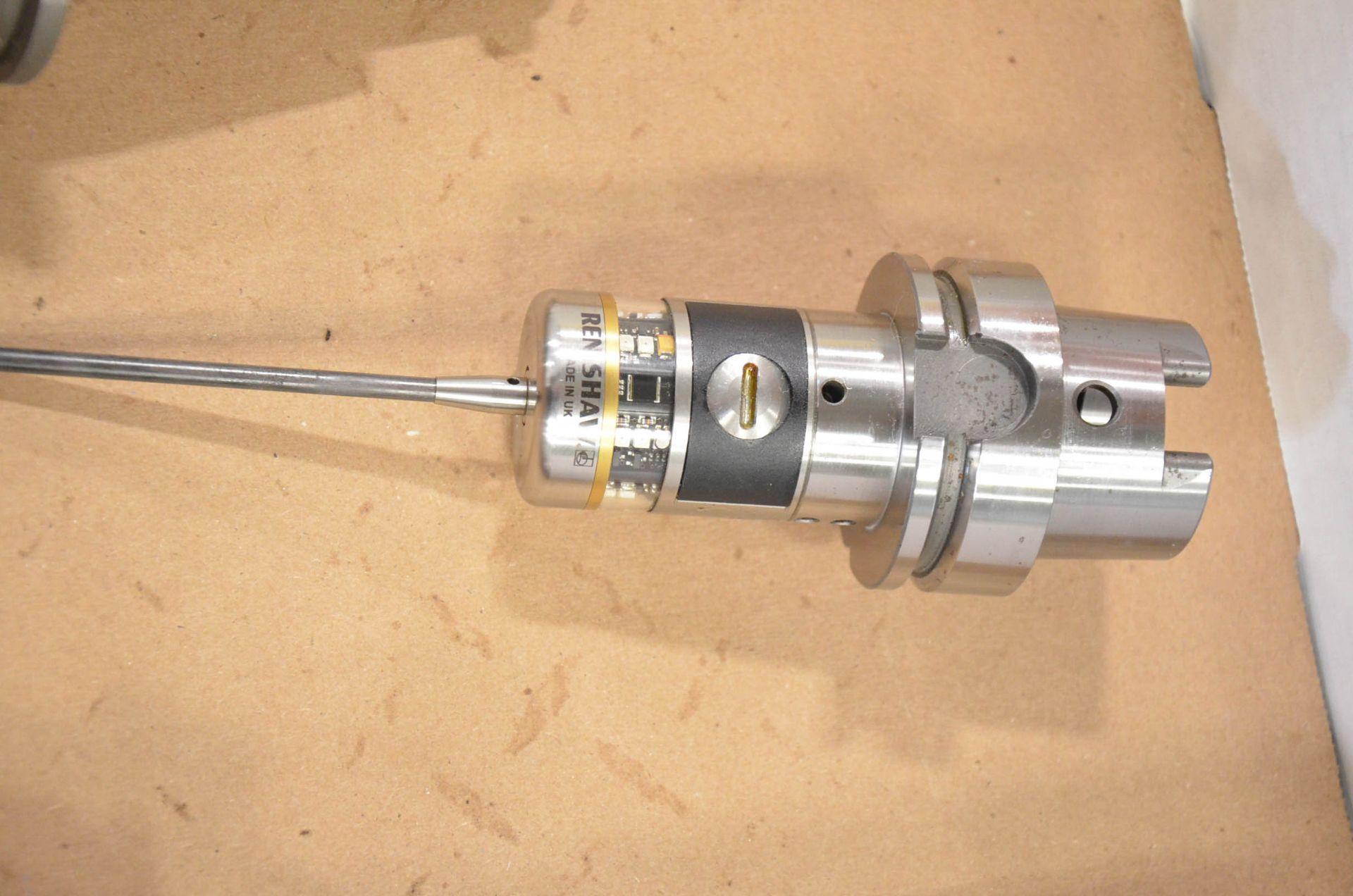 LOT/ RENISHAW OMP400 HSK-A63 TOUCH PROBE, S/N 0KMR62; HSK-A63 CALIBRATION BALL - Image 2 of 4
