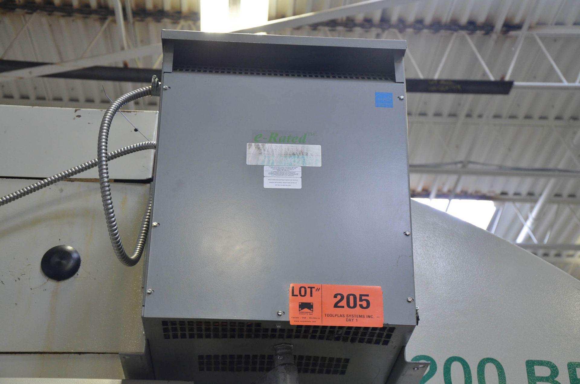 REX 45KVA/600-380-220V/3PH/60HZ TRANSFORMER (CI) [RIGGING FEES FOR LOT #205 - $50 USD PLUS