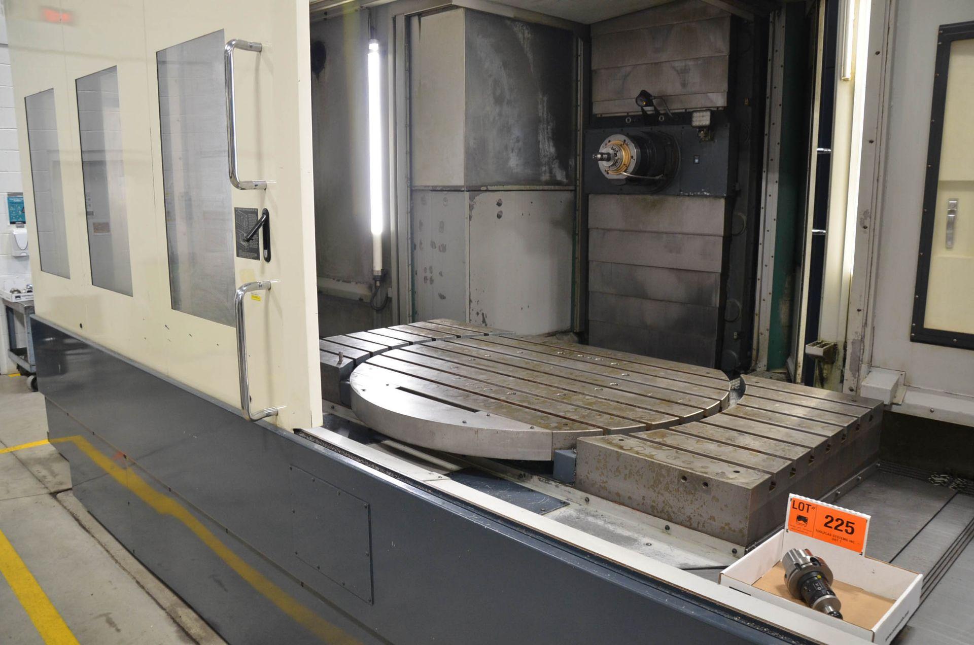 MAKINO (2008) MCC2013 4-AXIS HORIZONTAL MACHINING CENTER WITH MAKINO PROFESSIONAL 5 CNC CONTROL, - Image 11 of 12
