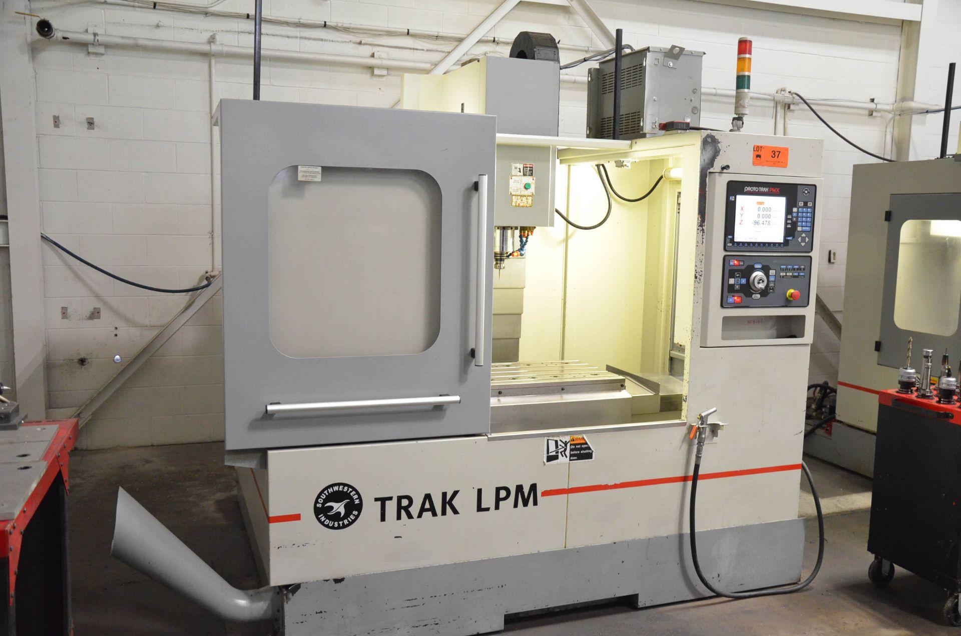 SWI (2012) TRAK LPM 4-AXIS READY CNC VERTICAL MACHINING CENTER WITH PROTO TRAK PMX CNC CONTROL, 19. - Image 2 of 10