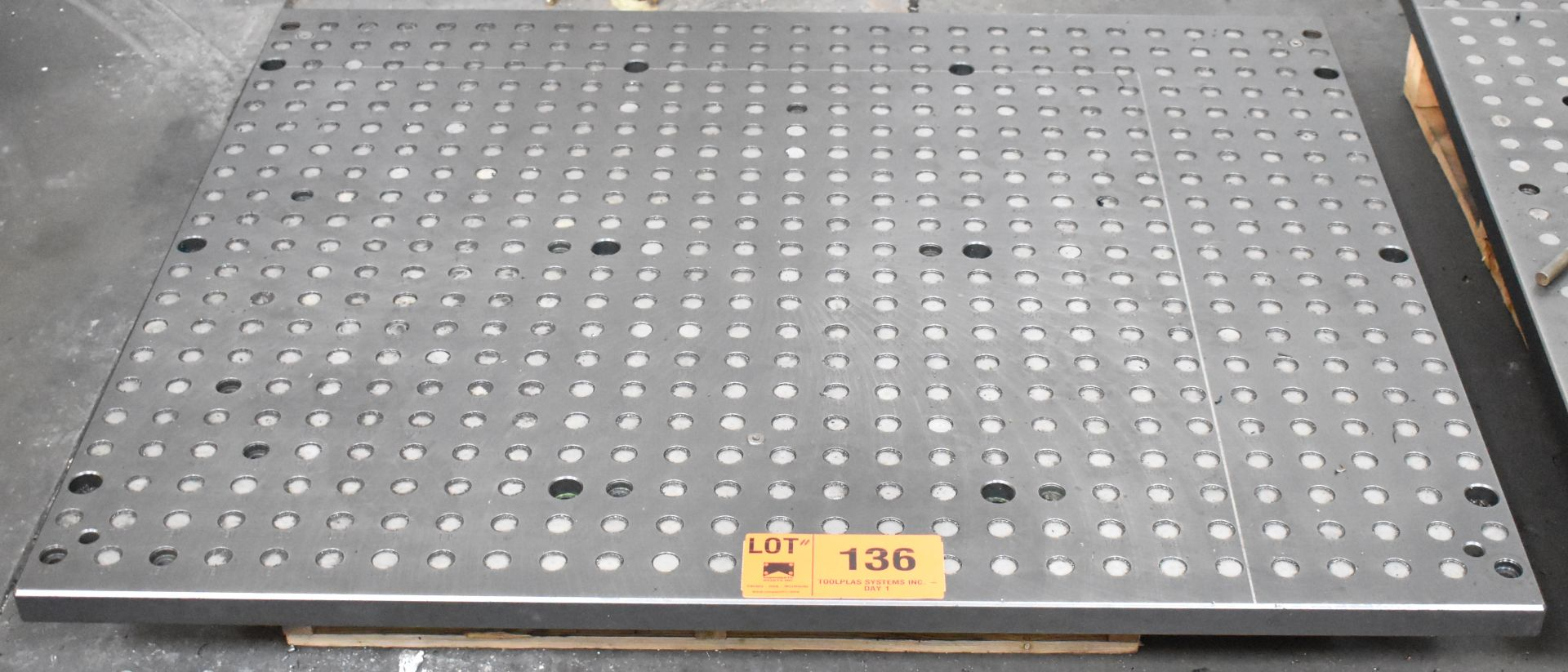 """43"""" X 53"""" SUB-TABLE WITH FCS SYSTEM CLAMPING"""