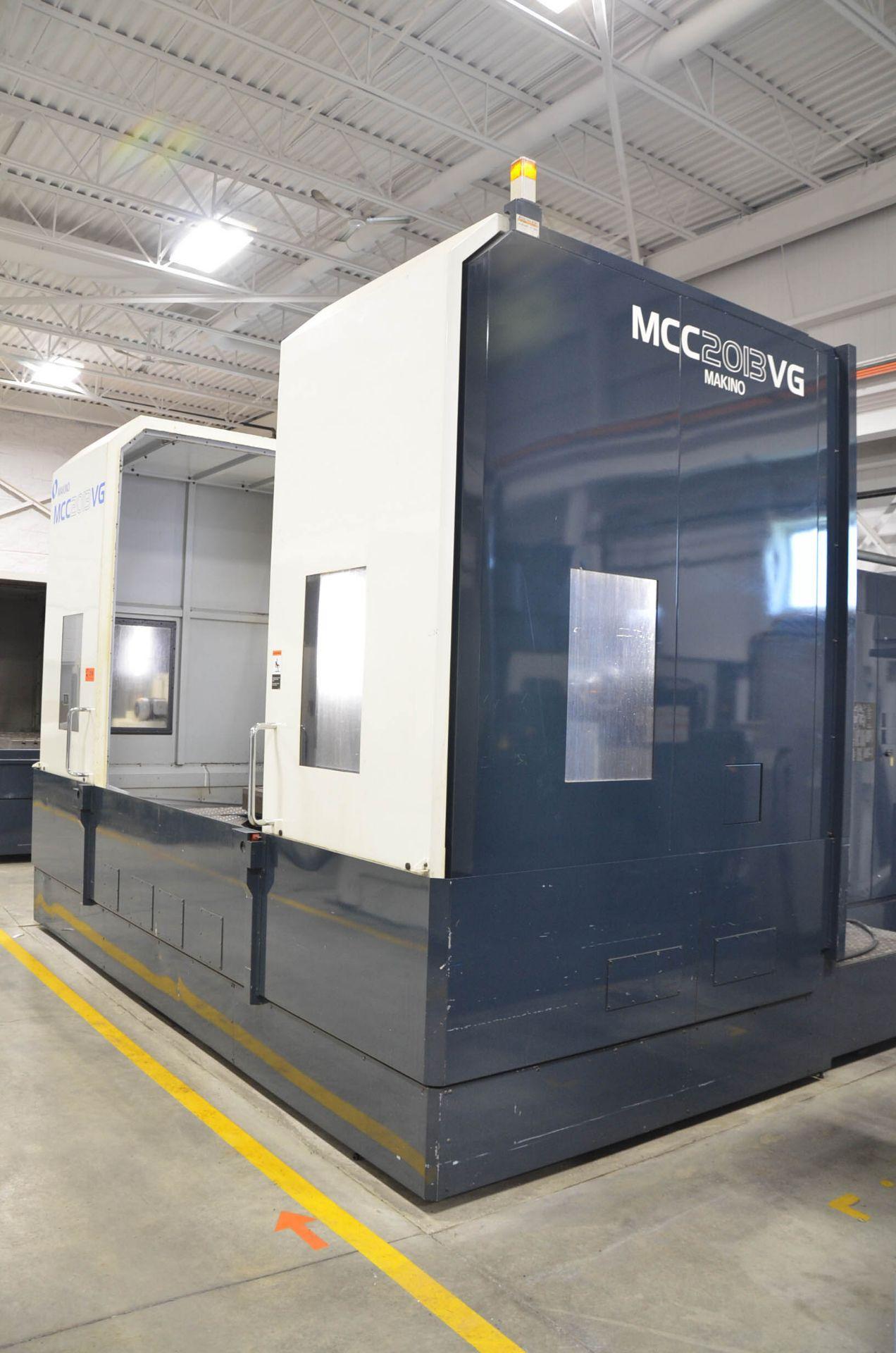 "MAKINO (2013) MCC2013 VG 6-AXIS CNC MACHINING CENTER WITH MAKINO PROFESSIONAL 5 CNC CONTROL, 59"" X - Image 2 of 11"