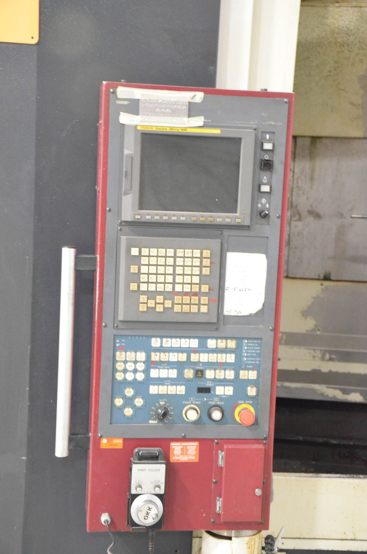 OKK (2006) HP500S TWIN-PALLET CNC HORIZONTAL MACHINING CENTER WITH FANUC 180I S-MB CNC CONTROL, 19. - Image 3 of 5