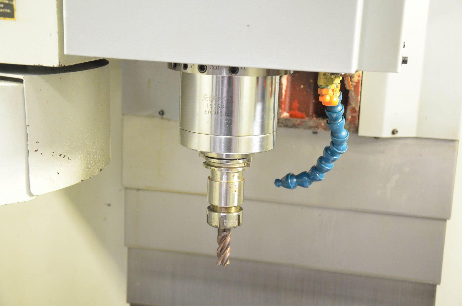 "SWI (2013) TRAK LPM CNC VERTICAL MACHINING CENTER WITH PROTO TRAK PMX CNC CONTROL, 19.5"" X 35.5"" - Image 8 of 9"