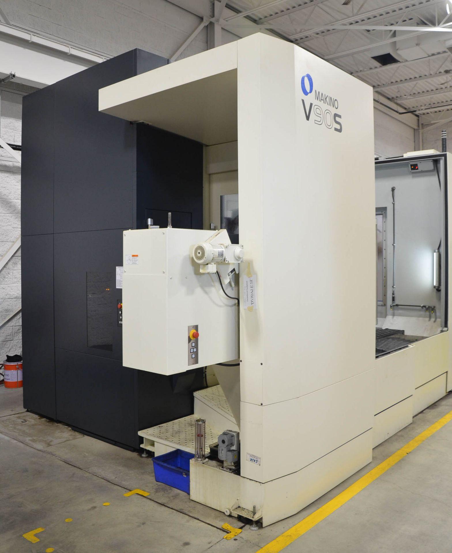 "MAKINO (NOV 2018) V90S 5-AXIS CNC MACHINING CENTER WITH MAKINO PROFESSIONAL 6 CNC CONTROL, 78.74"" - Image 5 of 15"