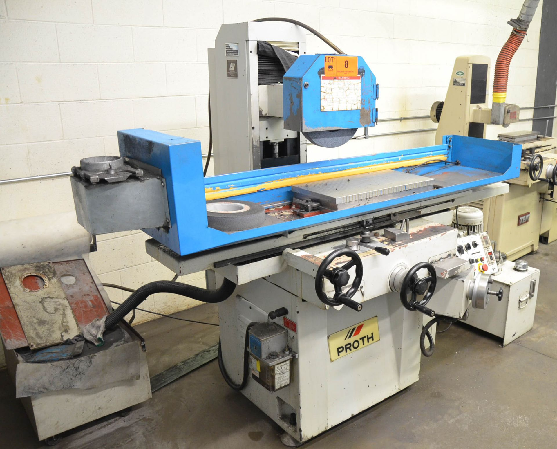 """PROTH (2005) PSGS-3060AH HYDRAULIC SURFACE GRINDER WITH 12""""X24"""" ELECTRO-MAGNETIC CHUCK, 16"""" WHEEL, - Image 3 of 6"""