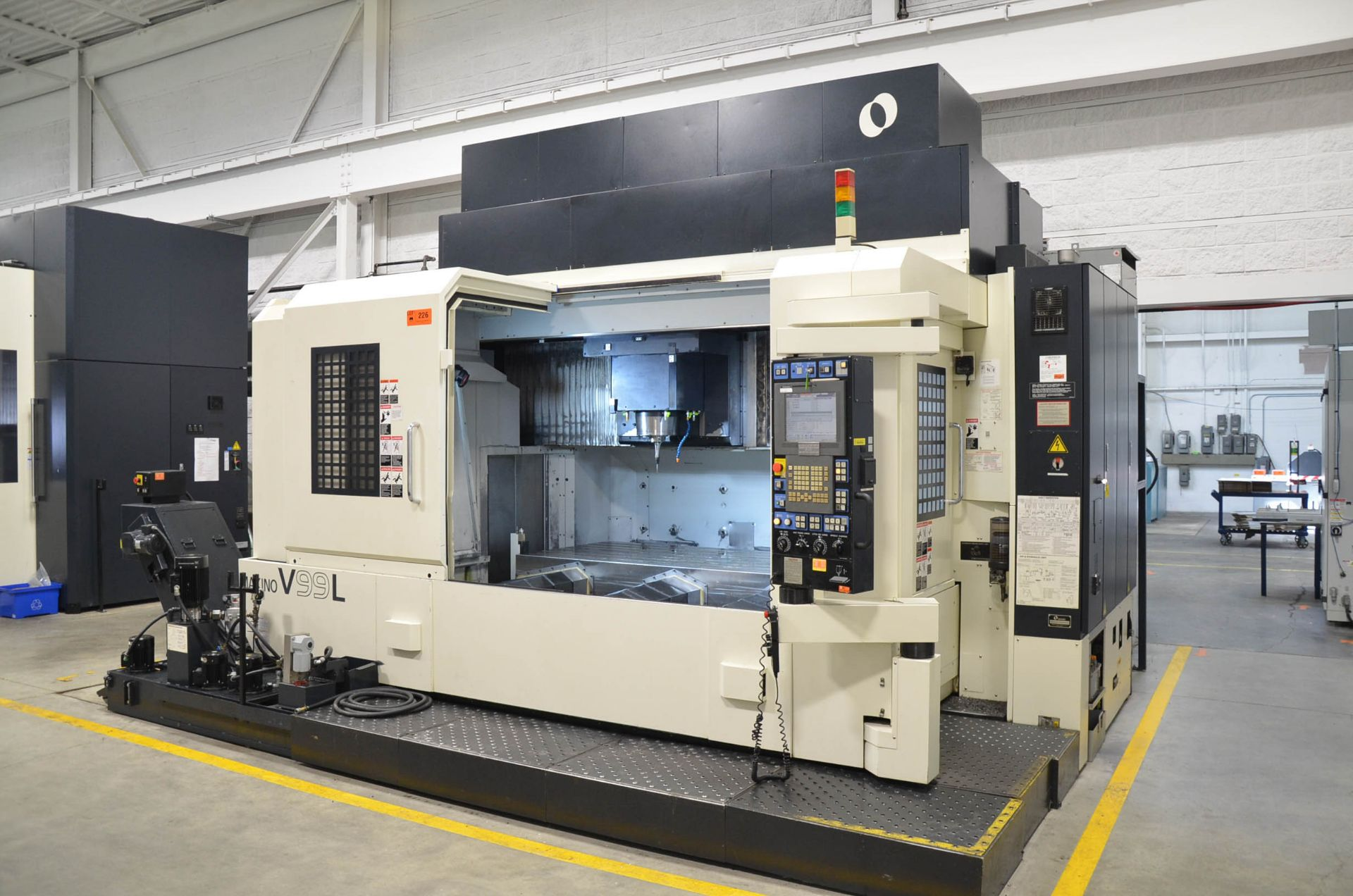MAKINO (2008) V99L(#50) CNC VERTICAL MACHINING CENTER WITH MAKINO PROFESSIONAL 5 CNC CONTROL, 39. - Image 3 of 12