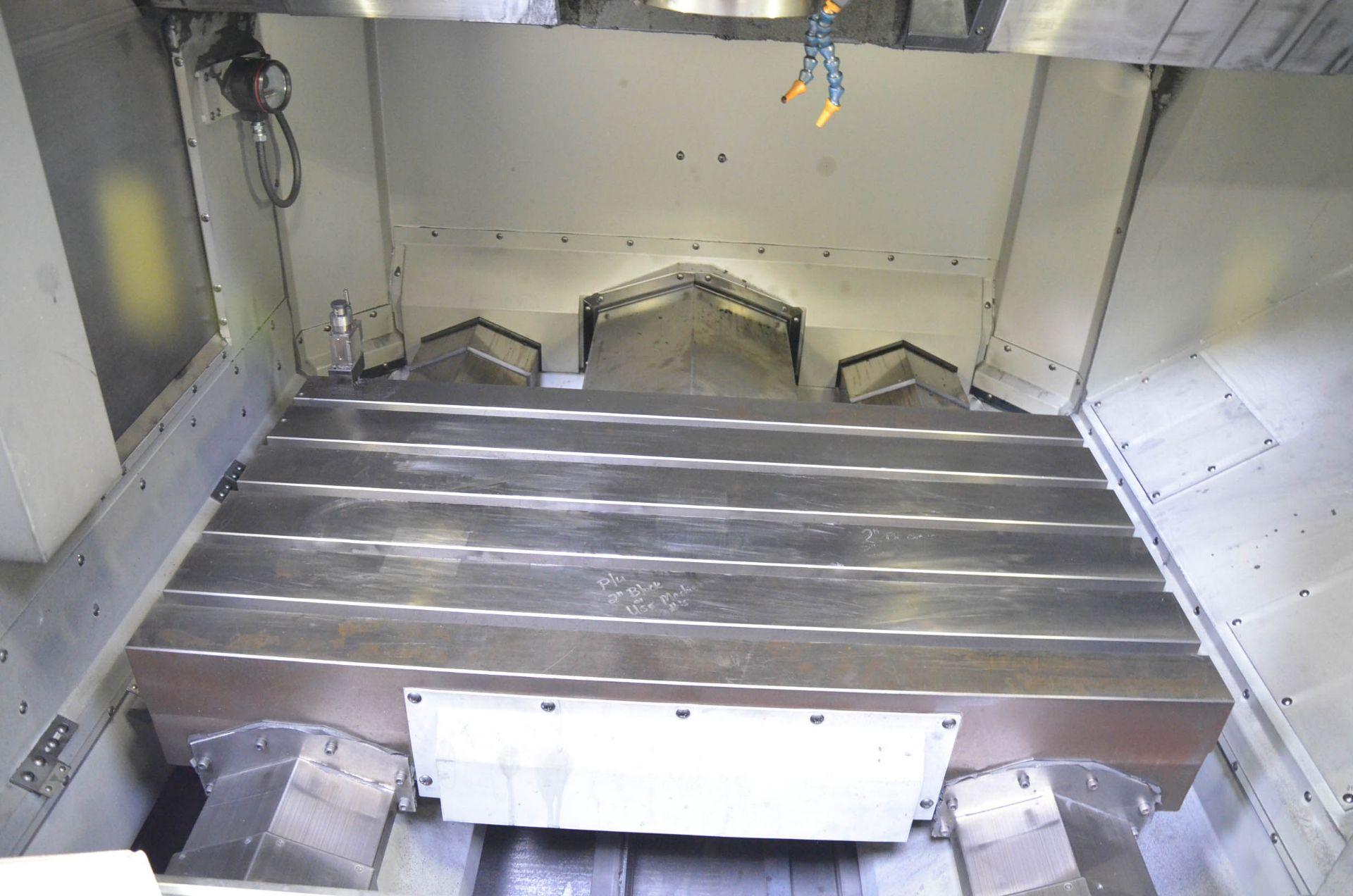 MAKINO (2008) V56 GRAPHITE CNC VERTICAL MACHINING CENTER WITH MAKINO PROFESSIONAL 5 TOUCHSCREEN - Image 6 of 10