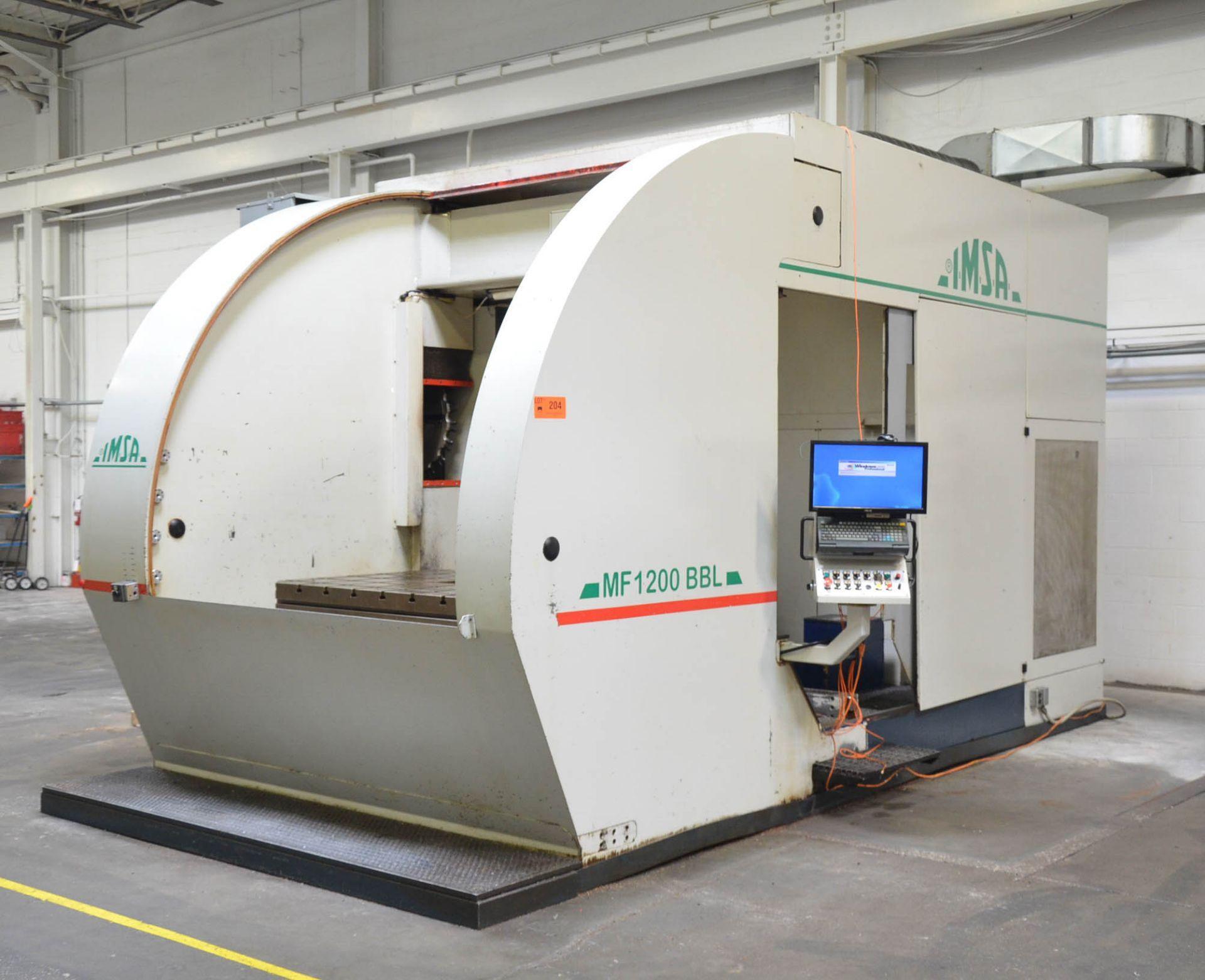 """IMSA (2006) MF 1000 - MF 1200 BB L CNC GUN DRILL WITH SELCA S4000 CNC CONTROL, 47.25"""" X 59"""" ROTARY - Image 2 of 8"""