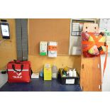 LOT/ SAFETY AND FIRST AID SUPPLIES