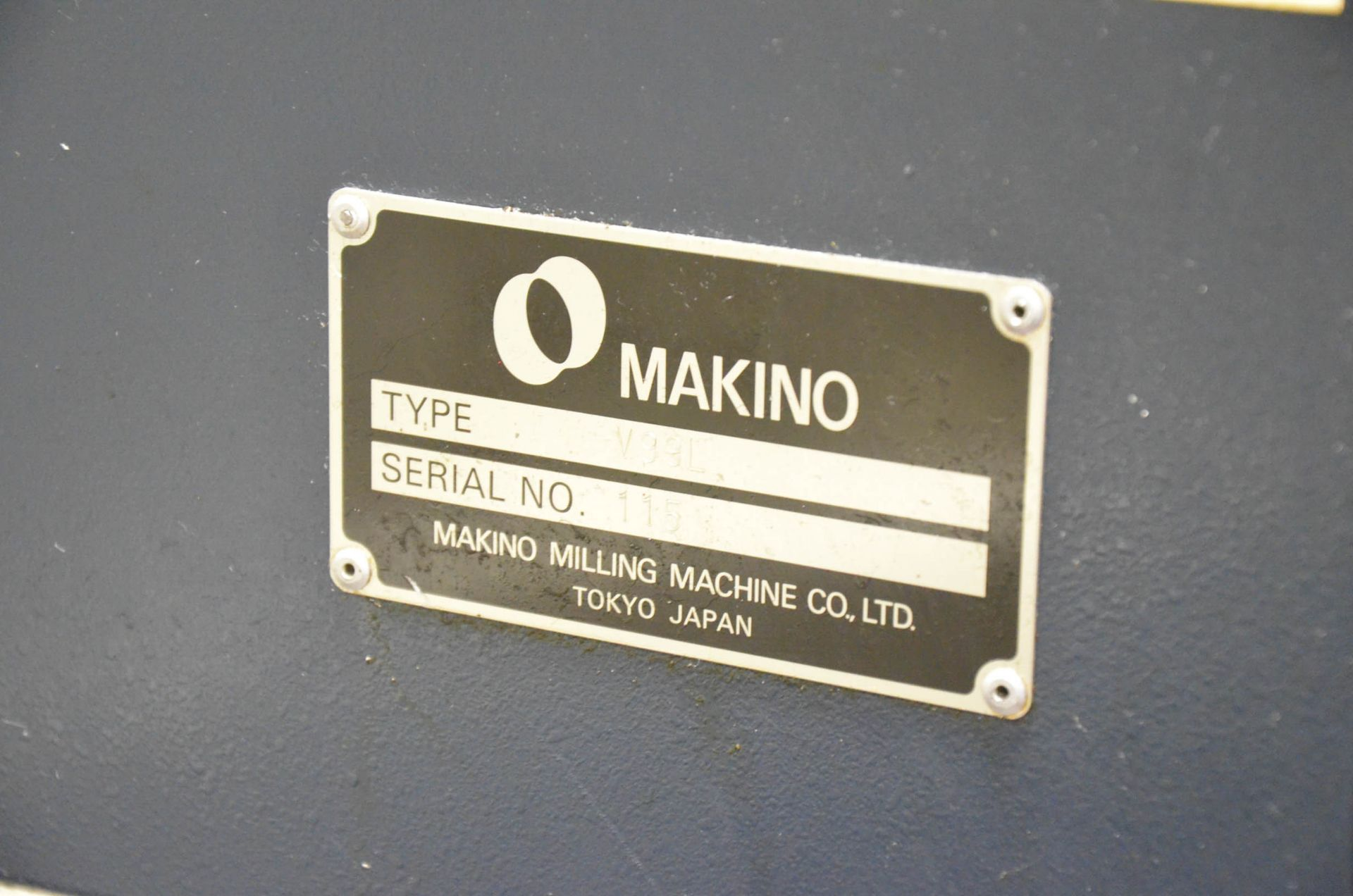 MAKINO (2008) V99L(#50) CNC VERTICAL MACHINING CENTER WITH MAKINO PROFESSIONAL 5 CNC CONTROL, 39. - Image 6 of 12