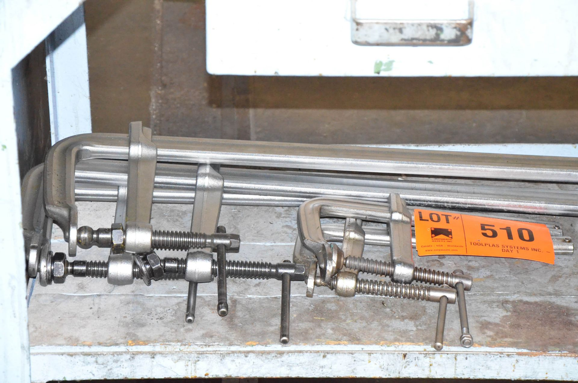 LOT/ BESSEY BAR CLAMPS