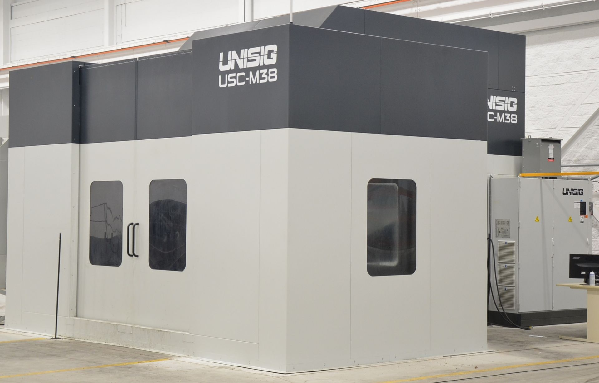 UNISIG (2020) USC-M38 5-AXIS COMBINATION CNC GUN DRILLING AND MILLING MACHINE WITH HEIDENHAIN ITNC