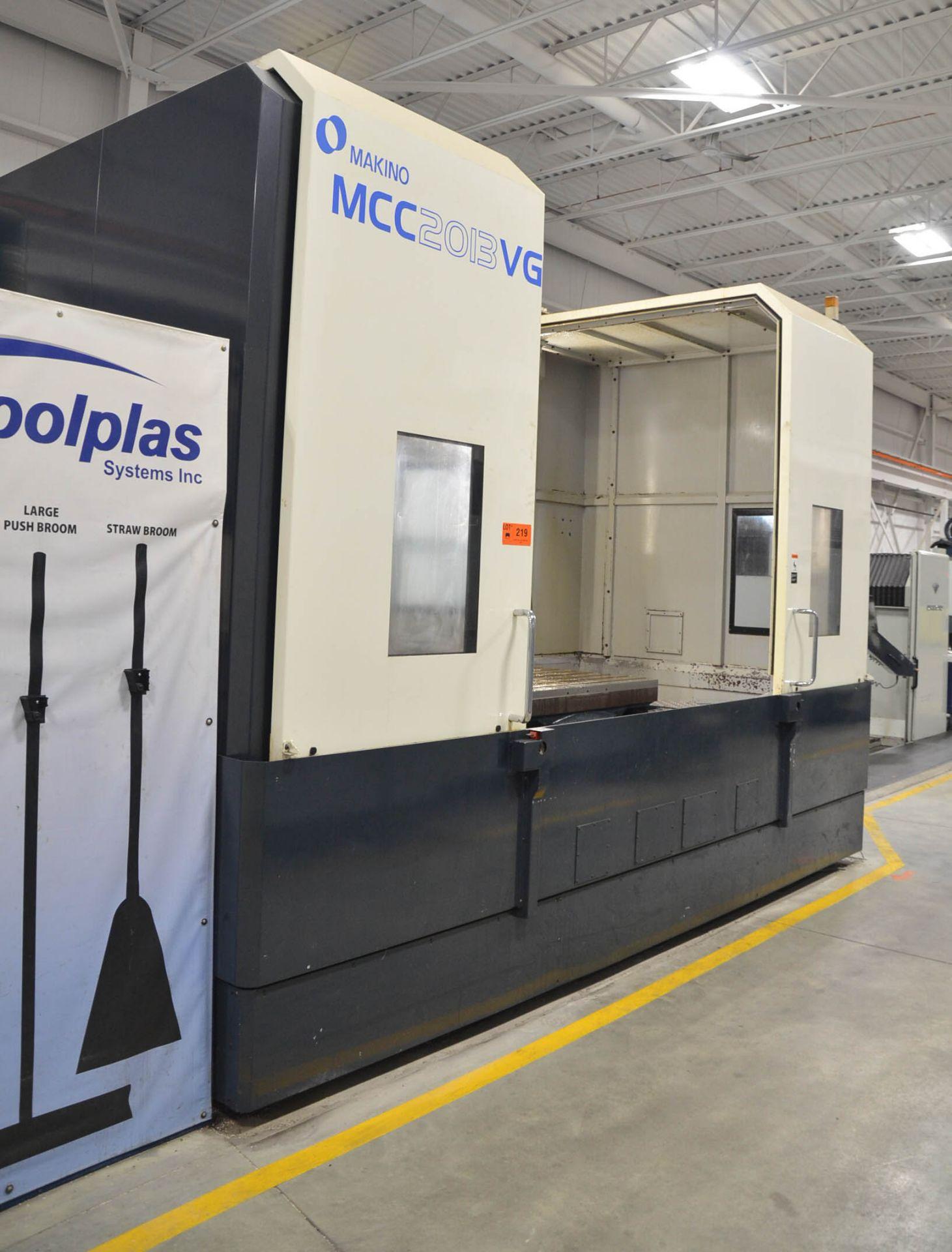 "MAKINO (2013) MCC2013 VG 6-AXIS CNC MACHINING CENTER WITH MAKINO PROFESSIONAL 5 CNC CONTROL, 59"" X - Image 4 of 11"