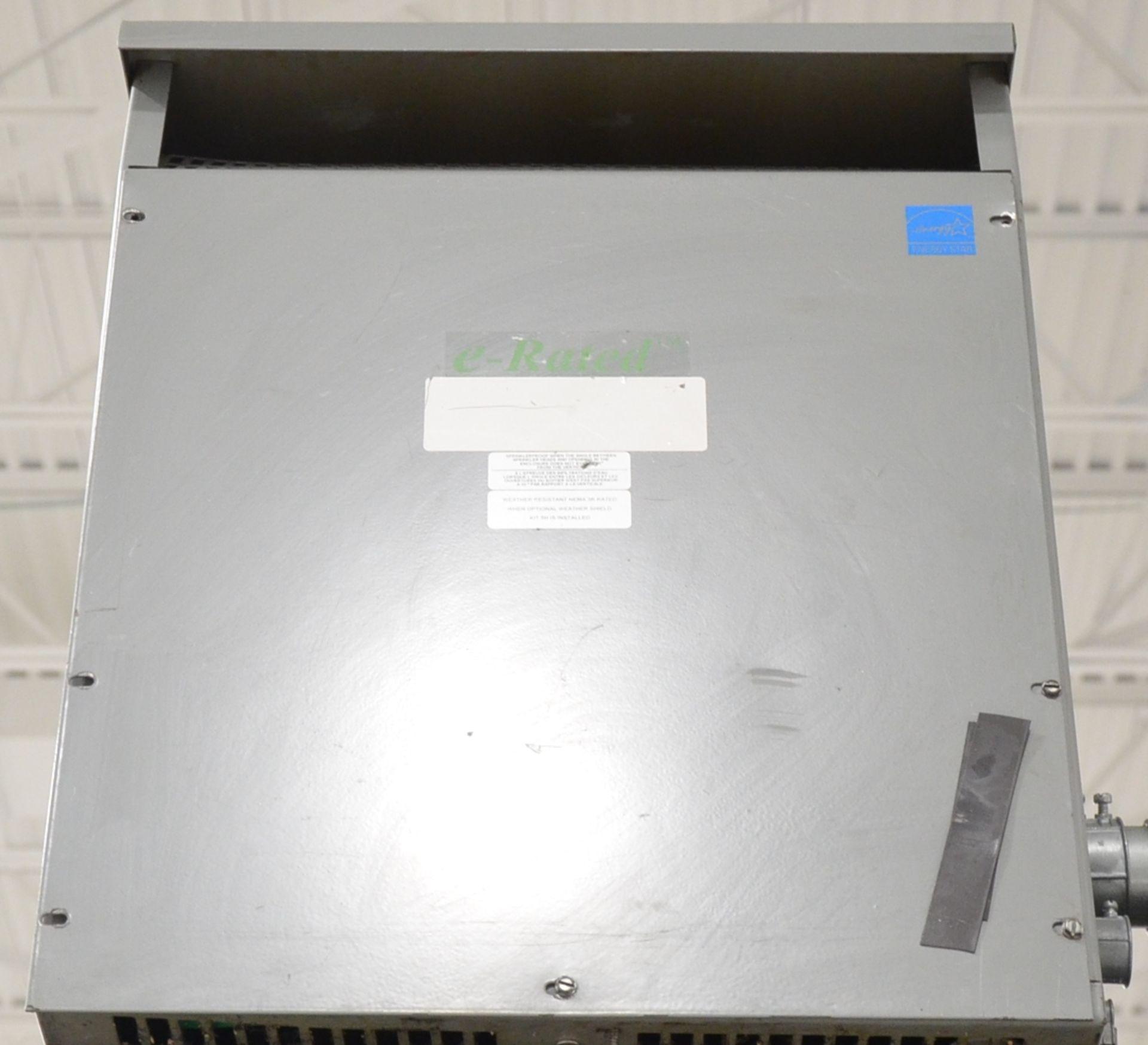 REX 45KVA/600-208-120V/3PH/60HZ TRANSFORMER (CI) [RIGGING FEES FOR LOT #420 - $50 USD PLUS