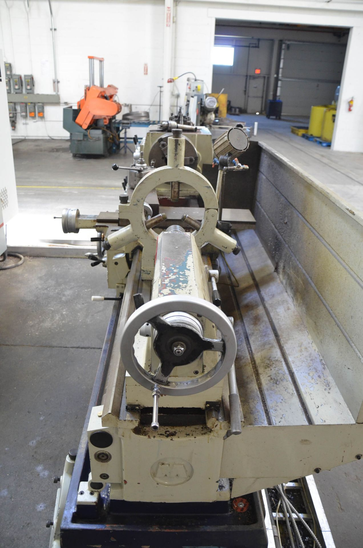 """ECOCA (2012) SJ-2260G GAP BED ENGINE LATHE WITH 22"""" SWING OVER BED, 30"""" SWING IN THE GAP, 60"""" - Image 7 of 9"""