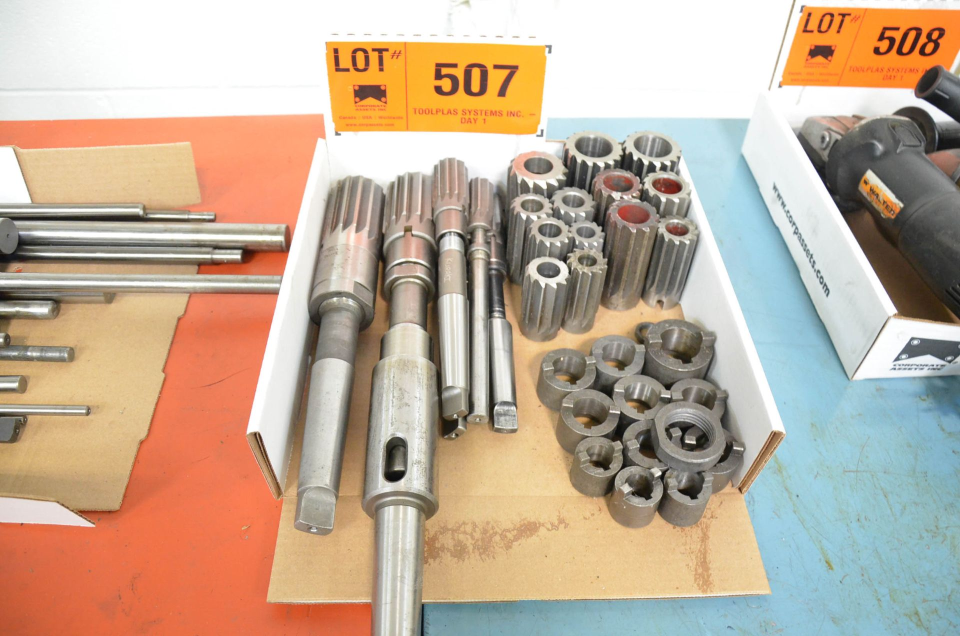 LOT/ SHELL REAMERS