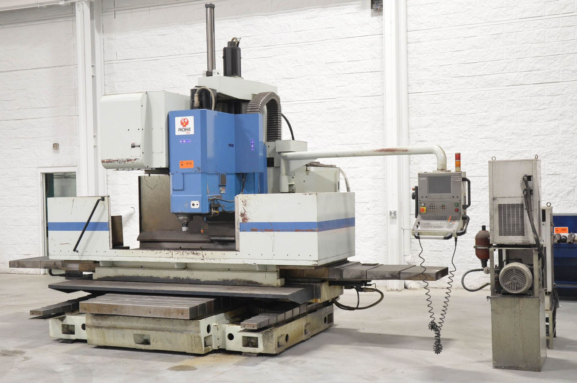 "PHOENIX KAFO (2001) VMC-21100 CNC VERTICAL MACHINING CENTER WITH HEIDENHAIN CNC CONTROL, 39""X94"" - Image 2 of 7"