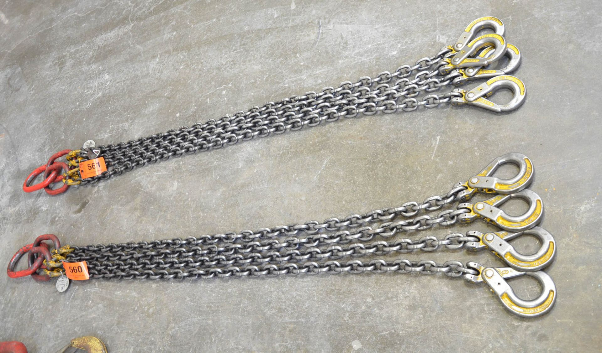 """SPARTAN 1/2"""" X 8' 4-PART LIFTING CHAIN WITH 31,000 LBS CAPACITY"""