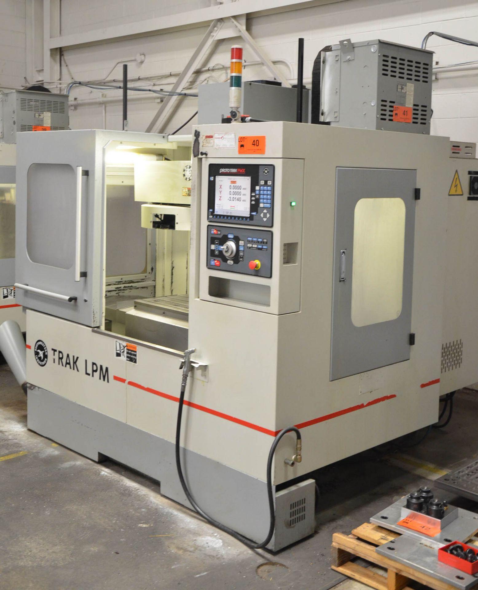 "SWI (2013) TRAK LPM CNC VERTICAL MACHINING CENTER WITH PROTO TRAK PMX CNC CONTROL, 19.5"" X 35.5"" - Image 2 of 9"