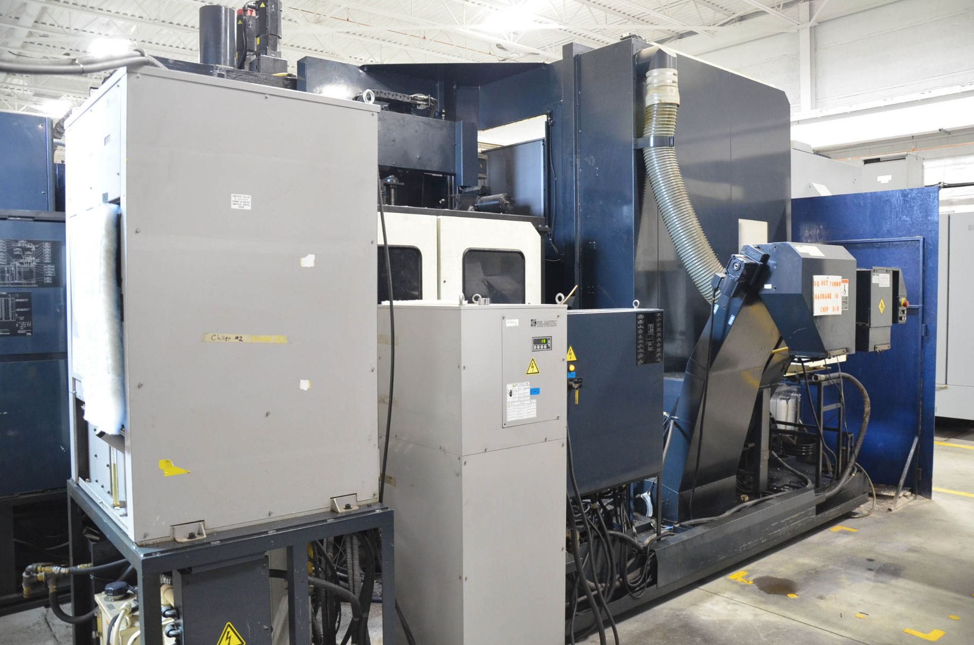 "MAKINO (2013) MCC2013 VG 6-AXIS CNC MACHINING CENTER WITH MAKINO PROFESSIONAL 5 CNC CONTROL, 59"" X - Image 10 of 11"