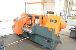 """COSEN (2012) SH-7550S AUTOMATIC DOUBLE COLUMN HORIZONTAL BAND SAW WITH 28"""" CAPACITY, HITECH TOUCH"""
