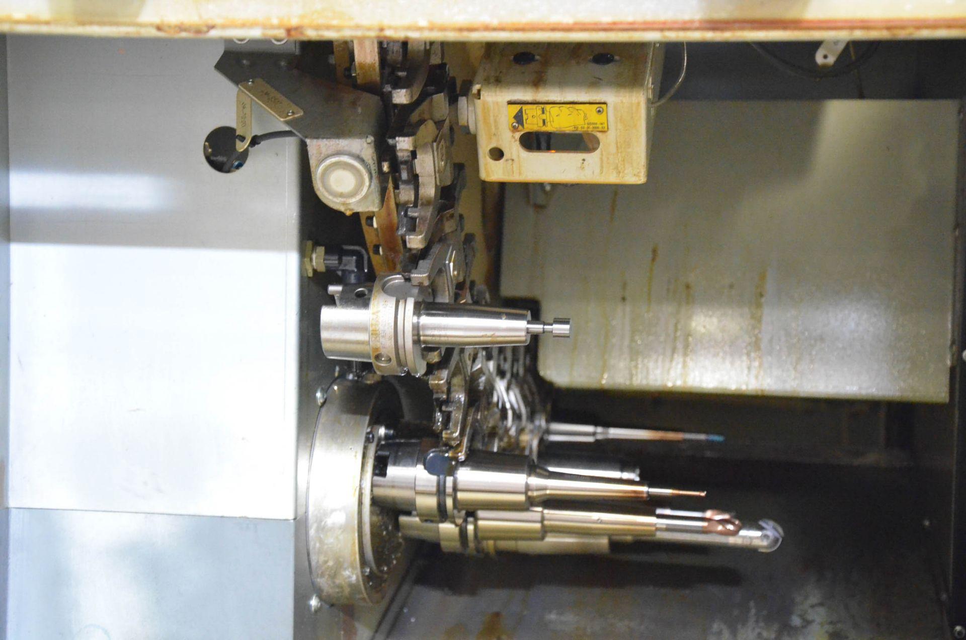 "GROB (2012) G350 5-AXIS CNC MACHINING CENTER WITH HEIDENHAIN ITNC 530 CNC CONTROL, 22.25"" DIAMETER - Image 12 of 12"