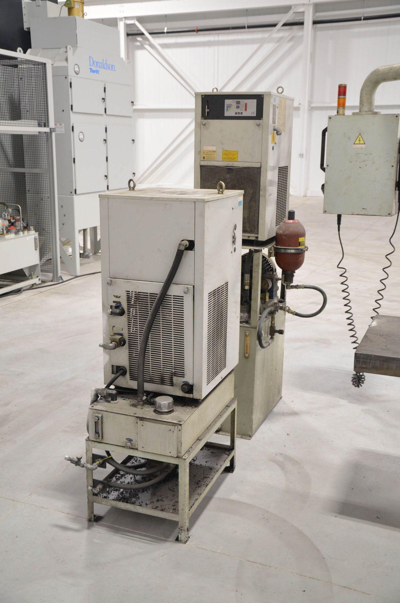 "PHOENIX KAFO (2001) VMC-21100 CNC VERTICAL MACHINING CENTER WITH HEIDENHAIN CNC CONTROL, 39""X94"" - Image 7 of 7"