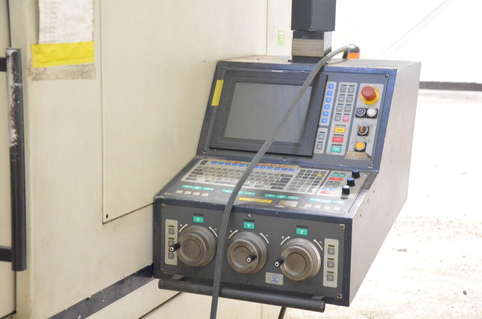 LOT/ SURPLUS MACHINERY AND EQUIPMENT CONSISTING OF PARPAS FAMU (1998) PHS-812 GANTRY-TYPE CNC - Image 5 of 6
