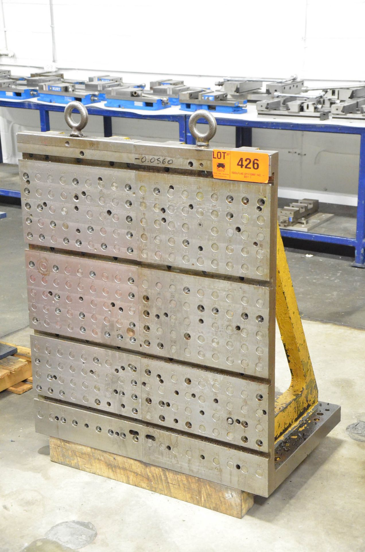 """LOT/ (2) 18"""" x 42"""" FCS SYSTEM COMPATIBLE ANGLE PLATES"""